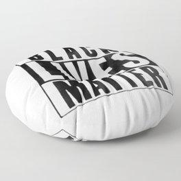 Black Lives Matter Floor Pillow