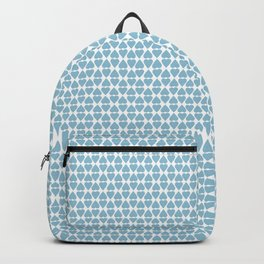 Diamond Hearts Blue Backpack