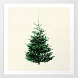 Christmas tree, a stylish alternative to a traditional one. Kunstdrucke