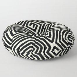 Kuna Indian Butterfly Floor Pillow