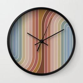 Gradient Curvature IX Wall Clock