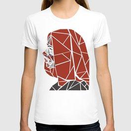 Natasha Romanoff Polygonal Design T-shirt