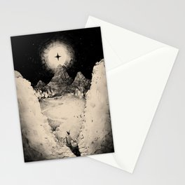 Hills and Valleys Stationery Cards