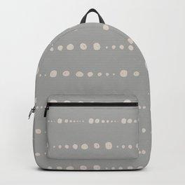 Minimal Scandinavian Nordic Dots Pattern Backpack