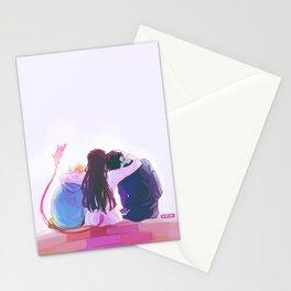 hiyori and her boys Stationery Cards