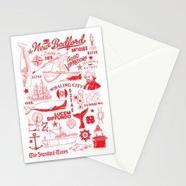 New Bedford Massachusetts Stationery Cards