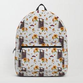 Garden Gate & Sunflowers Backpack