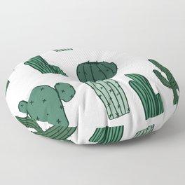 Cactus Overload Floor Pillow