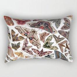 Moths of North America Rectangular Pillow