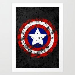 Captain's Shield Kunstdrucke