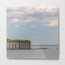 Ocean Fort Metal Print