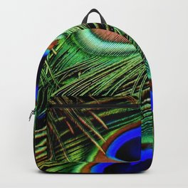 Peacock Feathers 11 Backpack