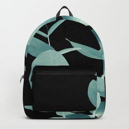 Eucalyptus Leaves Green Black #1 #foliage #decor #art #society6 Backpack