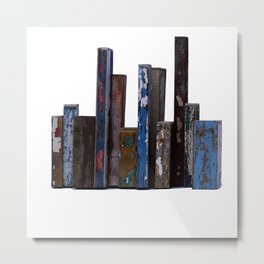 Residual City #5 Sculpture by Annalisa Ramondino Metal Print