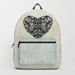 Transparent Heart Backpack