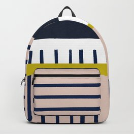 Parallel lines, perpendicular lines #610 Backpack
