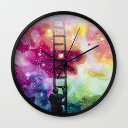 Show me the way out of this darkness Wall Clock