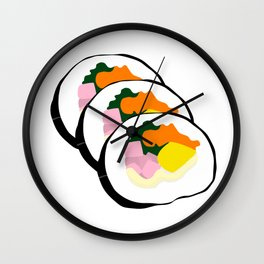 Kimbap (김밥) Wall Clock