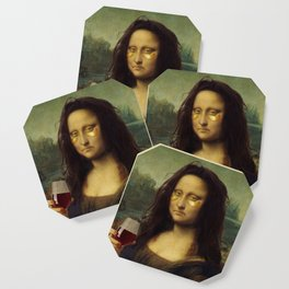 Drunk Lisa Coaster