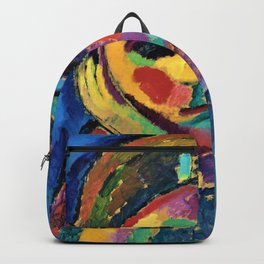 Alexej von Jawlensky - The thinking woman - Digital Remastered Edition Backpack