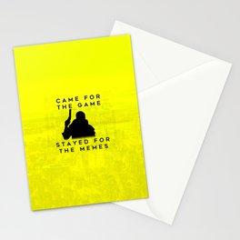 Cyberpunk 2077 Glitch Inspired Meme Design Stationery Cards