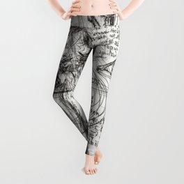 Clone Death - Intaglio / Printmaking Leggings