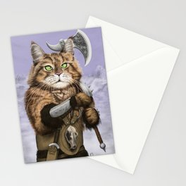 Barbarian Cat Stationery Cards