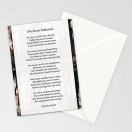 The Secret Reflection Poem Stationery Cards