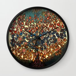 The Tree of Life (L'arbre de Vie) by Seraphine Louis Wall Clock