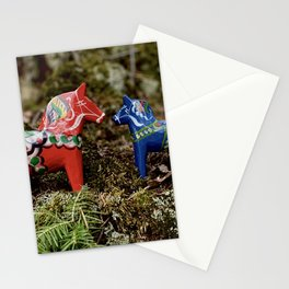 Dalas meet in the Forest Stationery Cards