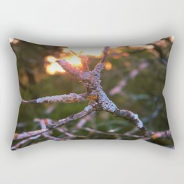 feel versus exist Rectangular Pillow