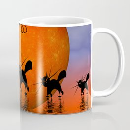 mooncat's catwalk Coffee Mug