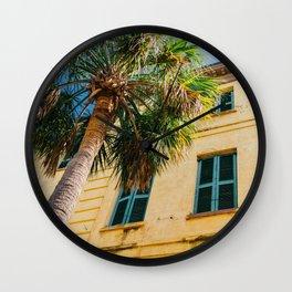 Charleston Palm Tree IV Wall Clock