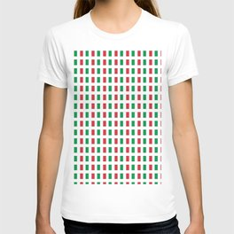 flag of Italia- Italy,Italia,Italian,Latine,Roma,venezia,venice,mediterreanean,Genoa,firenze T-shirt