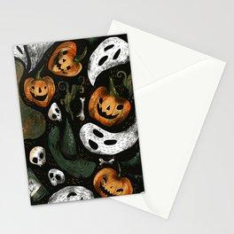 Vintage Halloween Stationery Cards