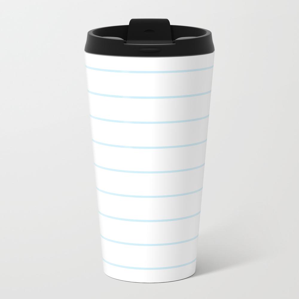 Skinny Stripe ((baby Blue)) Travel Cup TRM7771080