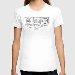 Books (White) T-shirt