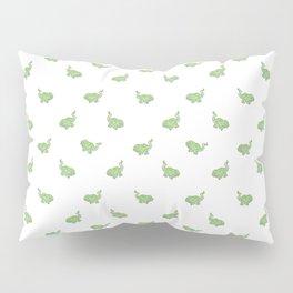 Iguana Sketchy Cartoon Style Drawing Pattern Pillow Sham