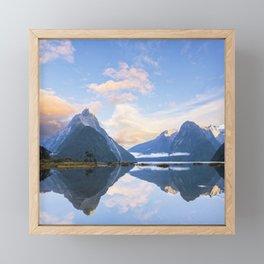 Milford Sound, New Zealand Framed Mini Art Print