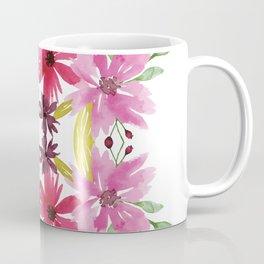 Mirrored Flower Cluster Coffee Mug