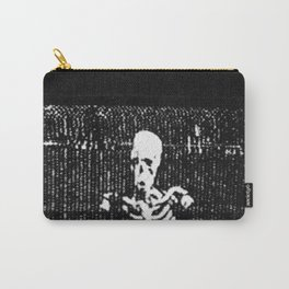 VHS Skeletons Carry-All Pouch