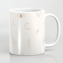 Bohemian Desert Neutrals Coffee Mug