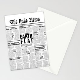 The Fake News Vol. 1, No. 1 Stationery Cards