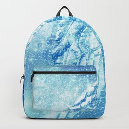 Celestial Guardian Angel Blue Backpack