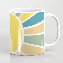 Retro Sunshine Coffee Mug