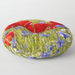 Poppyflowers Floor Pillow