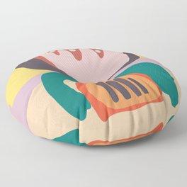 The Idea of Flowers Floor Pillow