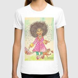 Rain Natural T-shirt