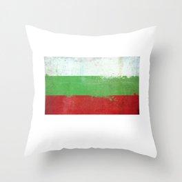 Bulgaria Flag design | Bulgarian design Throw Pillow