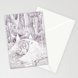 The habitat Stationery Cards